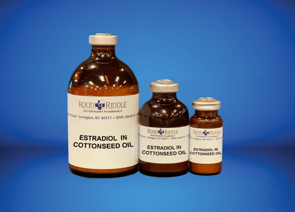 Estradiol in Cottonseed Oil