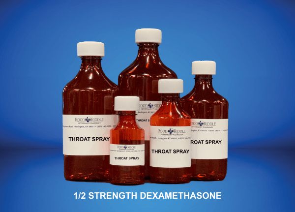 Throat Spray (1/2 Strength Dexamethasone)