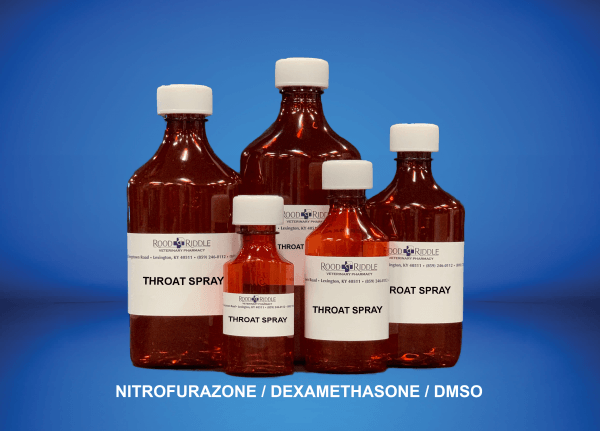 Throat Spray (Nitrofurazone/Dexamethasone/DMSO)