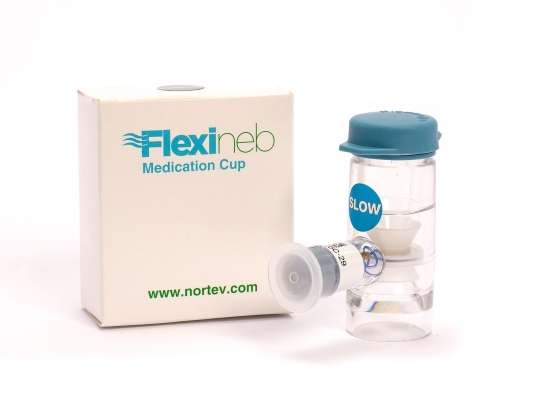 Flexineb Medication Cup Blue (Slow Flow)