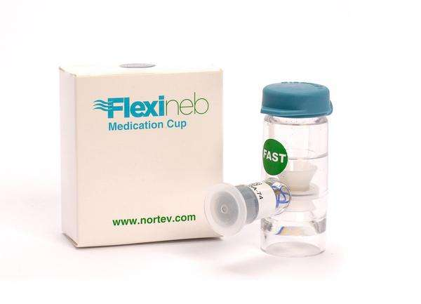 Flexineb Medication Cup Green (Fast Flow)