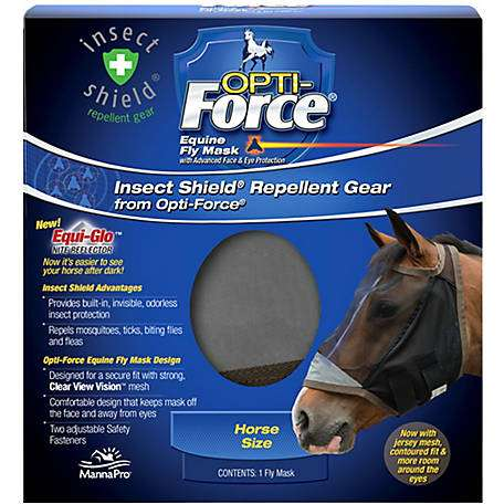 Fly Mask Opti Force