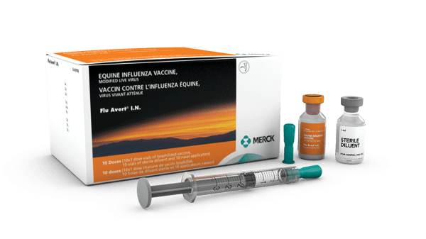 Flu-Avert I.N. Vaccine + diluent (Flu) Merck