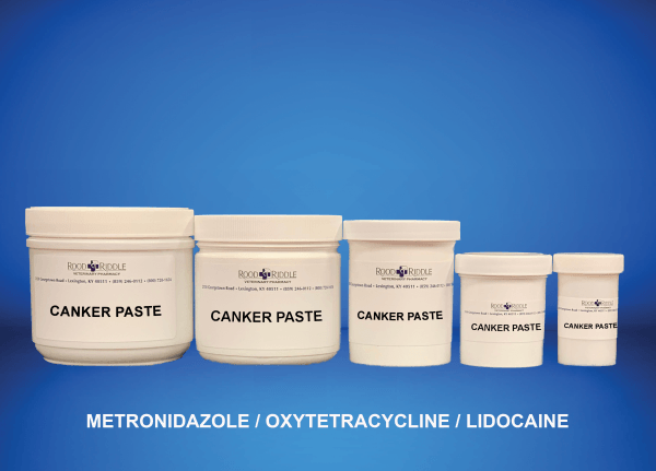 Canker Paste (Metronidazole/Oxytetracycline)/Lidocaine