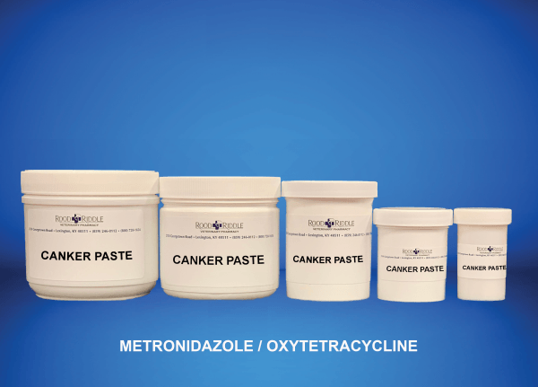 Canker Paste (Metronidazole/Oxytetracycline)