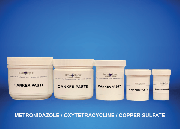 Canker Paste (Metronidazole/Oxytetracycline)/Copper Sulfate