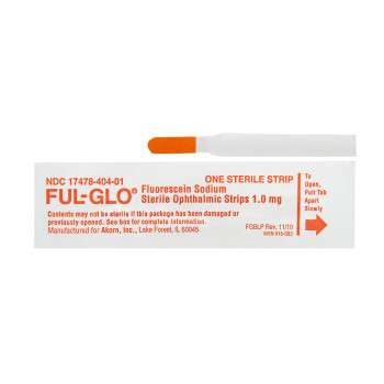 Flu-Glo (Fluorescein Sodium) Strips