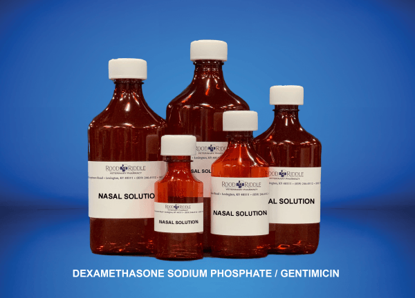 Nasal Solution (Dexamethasone Sodium Phosphate/Gentamicin)