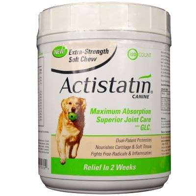 Actistatin Canine 120 Soft Chews