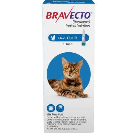 Bravecto Feline (Blue) Single Dose