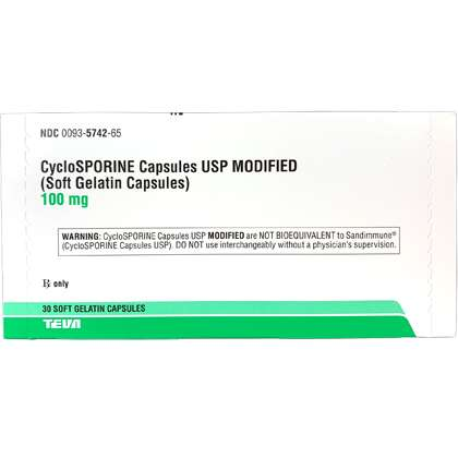 Cyclosporine (Modified)